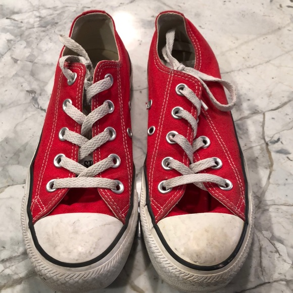 Converse Shoes   Boys Red Converse